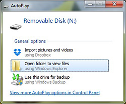 FT-1D Removable Disk Action