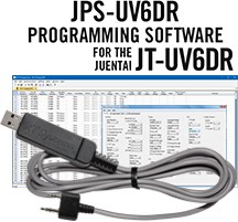 JPS-UV6DR Programming Software and USB-K4Y cable for the<br/>Juentai  JT-UV6DR
