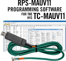 RPS-MAUV11 Programming Software and USB-39 cable for the HYS TC-MAUV11