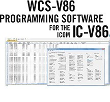 WCS-V86 Programming Software Only for the Icom IC-V86