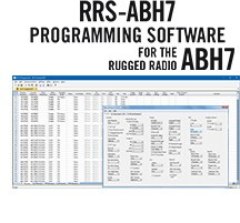 RRS-ABH7 Programming Software Only for the Rugged Radios ABH7