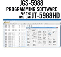 JGS-5988 Programming Software Only for the Jingtong JT-5988