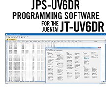JPS-UV6DR Programming Software Only for the Juentai JT-UV6DR