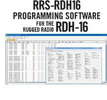 RRS-D16 Programming Software Only for the Rugged Radios RDH-16U/16V