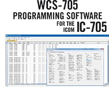 WCS-705 Programming Software Only for the Icom IC-705