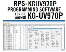RPS-KGUV970P Programming Software Only for the Wouxun KG-970P radio