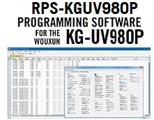 RPS-KGUV980P Programming Software Only for the Wouxun KG-980P radio