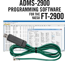 ADMS-2900 Programming Software and USB-29F cable for the Yaesu FT-2900