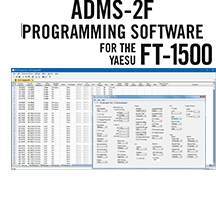 ADMS-2F Programming Software Only for the Yaesu FT-1500