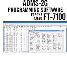 ADMS-2G Programming Software Only for the Yaesu FT-7100