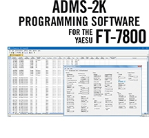 ADMS-2K Programming Software Only for the Yaesu FT-7800