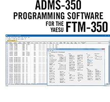 ADMS-350 Programming Software Only for the Yaesu FTM-350