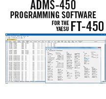 ADMS-450 Programming Software Only for the Yaesu FT-450