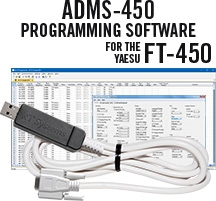 ADMS-450 Programming Software and USB-63 for the Yaesu FT-450