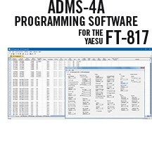 ADMS-4A Programming Software Only for the Yaesu FT-817/FT-817D
