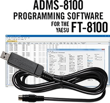 ADMS-8100 Programming Software and USB-29B for the Yaesu FT-8100