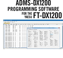 ADMS-DX1200 Programming Software Only for the Yaesu FT-DX1200