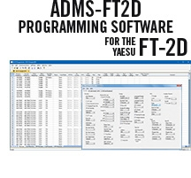 ADMS-FT2D Programming Software Only for the Yaesu FT-2D