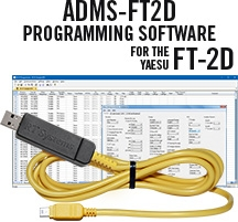 ADMS-FT2D-USB Programming software and USB-68 cable for the Yaesu FT-2D