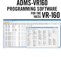 ADMS-VR160 Programming Software Only for the Yaesu VR-160
