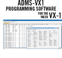 ADMS-VX1 Programming Software Only for the Yaesu VX-1