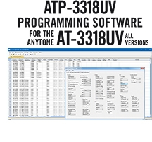 ATP-3318UV Programming Software Only for the AnyTone AT-3318 Series