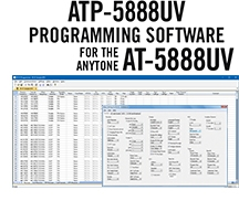 ATP-5888UV Programming Software Only for the AnyTone AT-5888UV