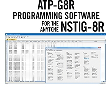 ATP-G8R Programming Software Only for the AnyTone NSTIG-8R