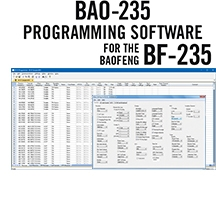 BAO-235 Programming Software Only for the Baofeng BF-235