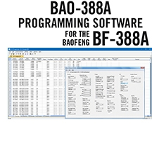 BAO-388A Programming Software Only for the Baofeng BF-388A