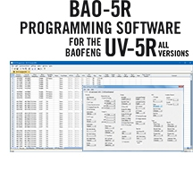 BAO-5R Programming Software Only for the Baofeng UV-5R Series