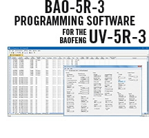 BAO-5R-3 Programming Software Only for the Baofeng UV-5R-3