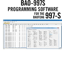 BAO-997S Programming Software Only for the Baofeng/Pofung 997-S