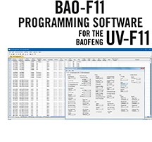 BAO-F11 Programming Software Only for the BaoFeng/Pofung UV-F11 HTs
