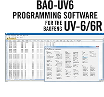 BAO-UV6 Programming Software Only for the Baofeng/Pofung UV-6 and UV-6R