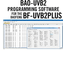BAO-UVB2 Programming Software Only for the Baofeng/Pofung UV-B2Plus