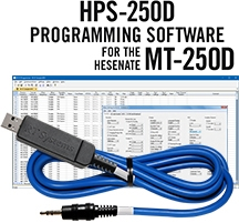 HPS-250D Programming Software and USB-70 cable for the Hensenate MT-250D