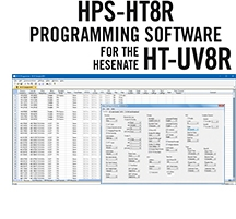 HPS-HT8R Programming Software Only for the Hensenate HT-UV8R radio