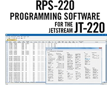 RPS-220 Programming Software Only for the Jetstream JT-220