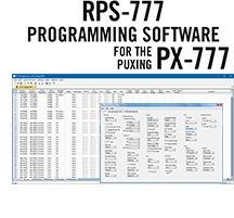 RPS-777 Programming Software Only for the Puxing PX-777