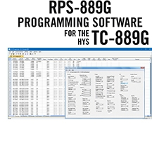 RPS-889G Programming Software Only for the HYS TC-889G