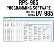 RPS-985 Programming Software Only for the Tonfa UV-985 Radio