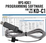 RPS-KDC1 Programming Software and USB-K4Y cable for the WLN KD-C1