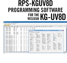 RPS-KGUV8D Programming Software Only for the Wouxun KG-UV8D and KG-UV8DPlus