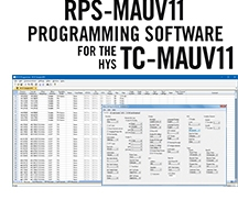 RPS-MAUV11 Programming Software Only for the HYS TC-MAUV11