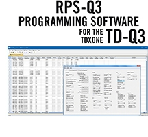 RPS-Q3 Programming Software Only for the TDXOne TD-Q3