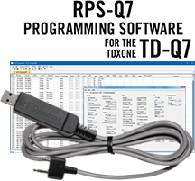 RPS-Q7 Programming Software and USB-K4Y cable for the TDXOne TD-Q7