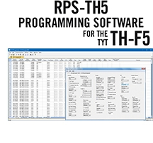 RPS-TH5 Programming Software Only for the TYT TH-F5