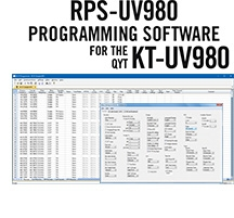 RPS-UV980 Programming Software Only for the QYT KT-UV980