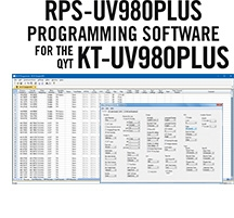 RPS-UV980Plus Programming Software Only for the QYT KT-UV980Plus